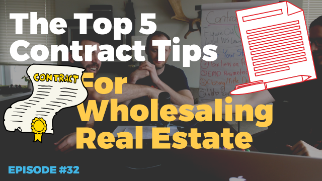 The 5 Best Hacks For Wholesale Real Estate Contracts