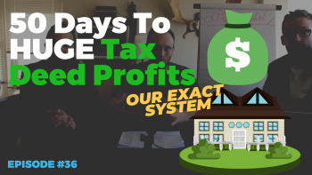 EP036: 🏠50 Days To HUGE Tax Deed Profits | The Wholesale Daily Show