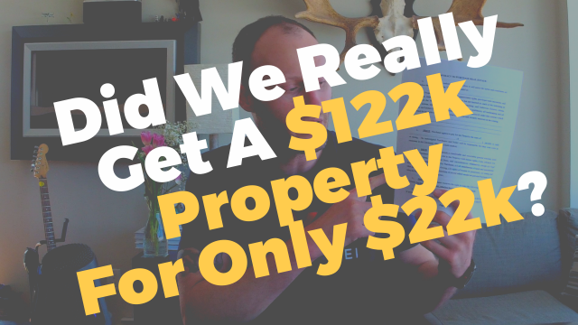A $122k Property for Only $22k? BUT HOW?